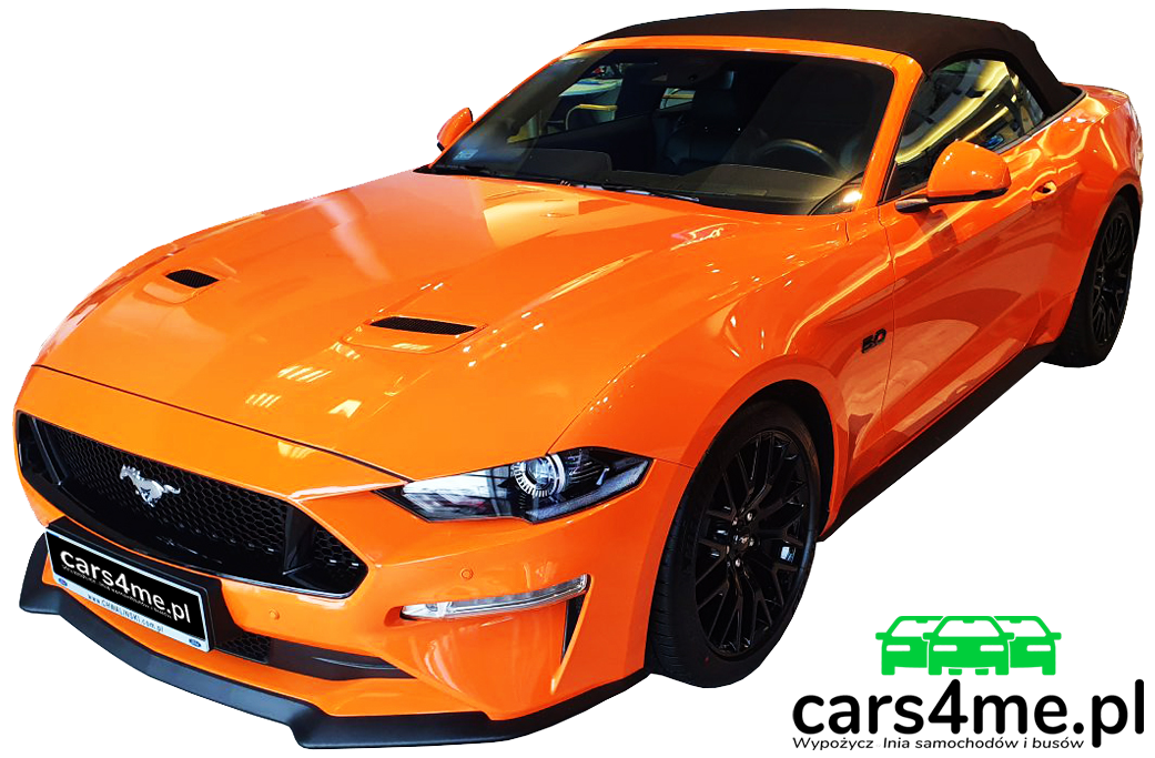 Ford Mustang GT Cabrio cars4me.pl